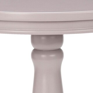 safavieh arles light grey round side table