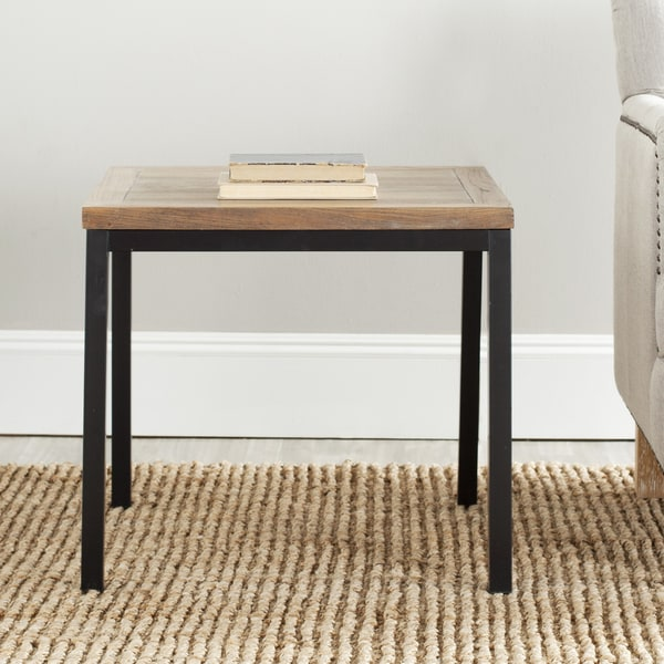 Safavieh York Brown Side Table