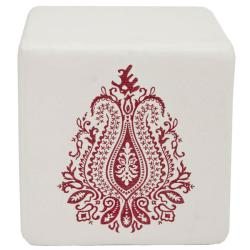 Safavieh Mono Royalty Cube Ottoman