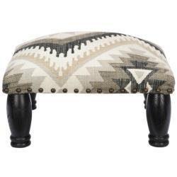 Safavieh Southwest Viscose Footstool Bench