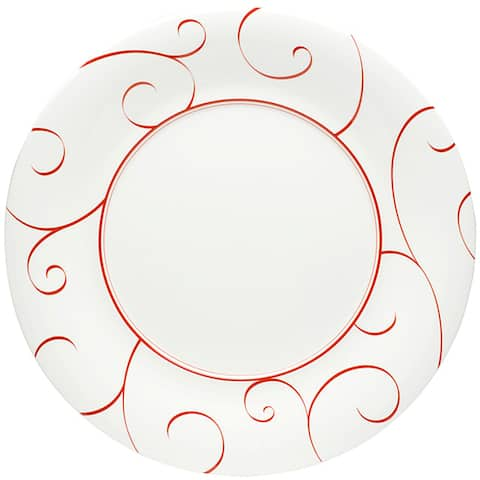 "Panache Rouge Dinner Plate 11""(Set of 6)"