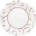 "Panache Rouge Dinner Plate 11""(Set of 6)"