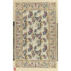Nourison Hand-hooked Country Heritage Beige/Gold Rug (3'6 x 5'6)