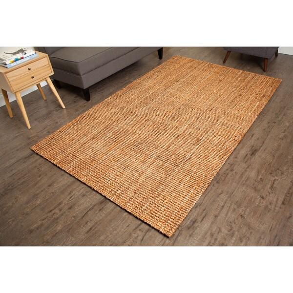 Jani Sahara Boucle Weave Jute Rug (3' x 5')