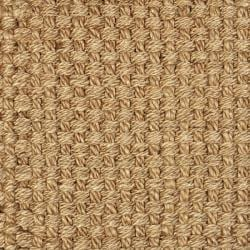 Hand-woven Eclipse Basketweave Jute Rug (9' x 12')