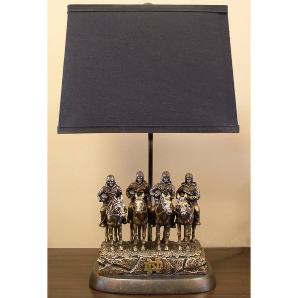 Notre Dame Fighting Irish Tim Wolfe Lamp