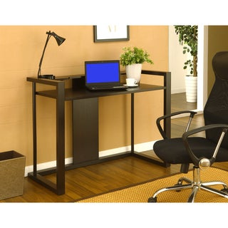 Furniture of America Dallas Cappuccino Office Writing Desk