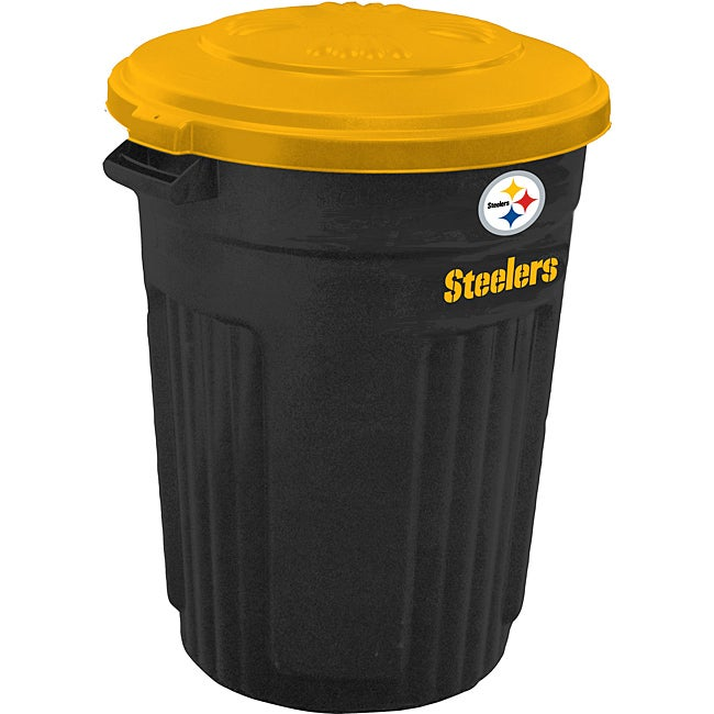 Pittsburgh Steelers 32-gallon Trash Can