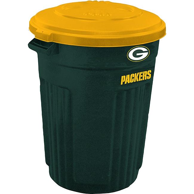 Green Bay Packers 32-gallon Trash Can