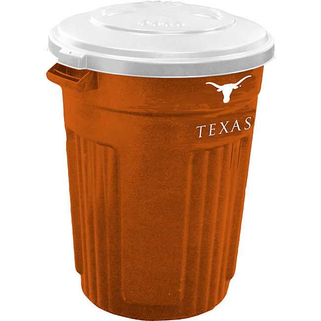 Texas Longhorns 32 Gallon Trash Can