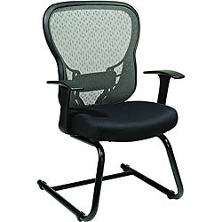 Office Star Deluxe R2 SpaceGrid Back Visitors Chair
