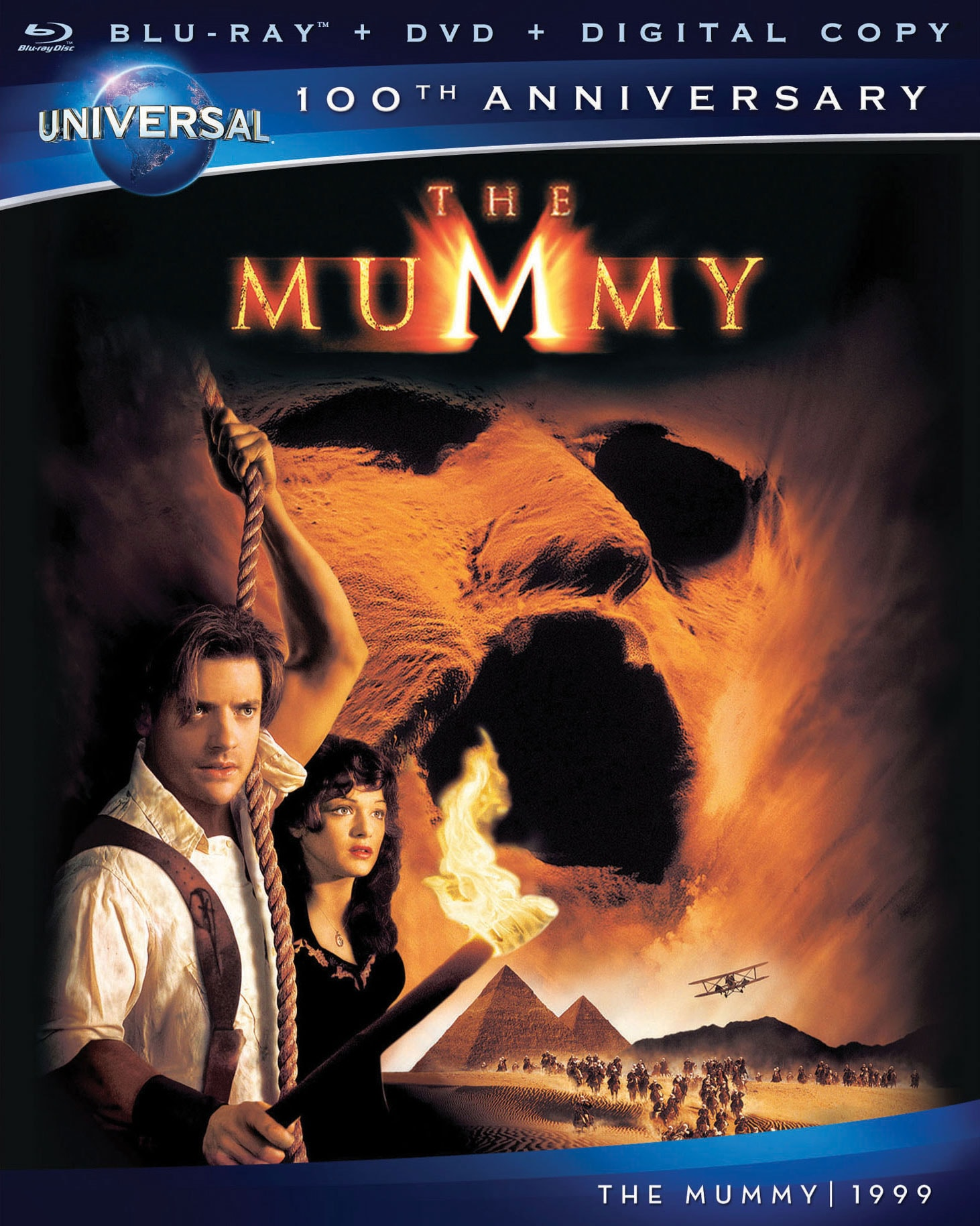 The Mummy (Blu-ray/DVD)