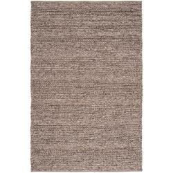 The Gray Barn Magda Hand-woven Casual Solid Brown Wool Area Rug - 8' x 10' - Thumbnail 0
