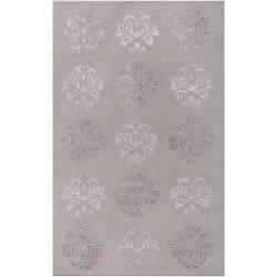 Hand-tufted Gray Coffman Wool Area Rug (9' x 13') - Thumbnail 0