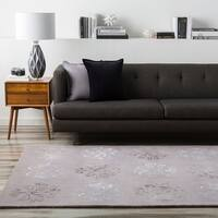 Hand-tufted Gray Coffman Wool Area Rug - 9' x 13'