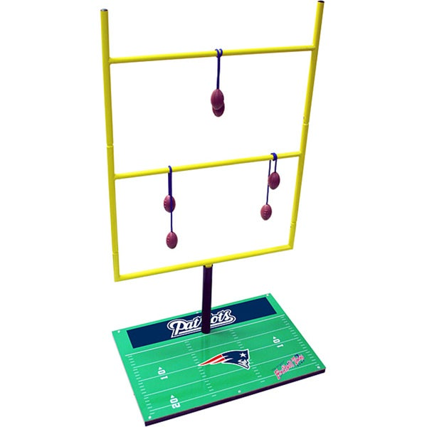 New England Patriots Double Football Toss