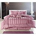Seville Rose 8-piece Oversized Comforter Set