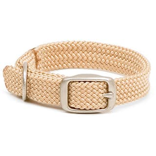 Mendota Sand Double-braided Junior Collar|https://ak1.ostkcdn.com/images/products/6608406/P14177964.jpg?impolicy=medium