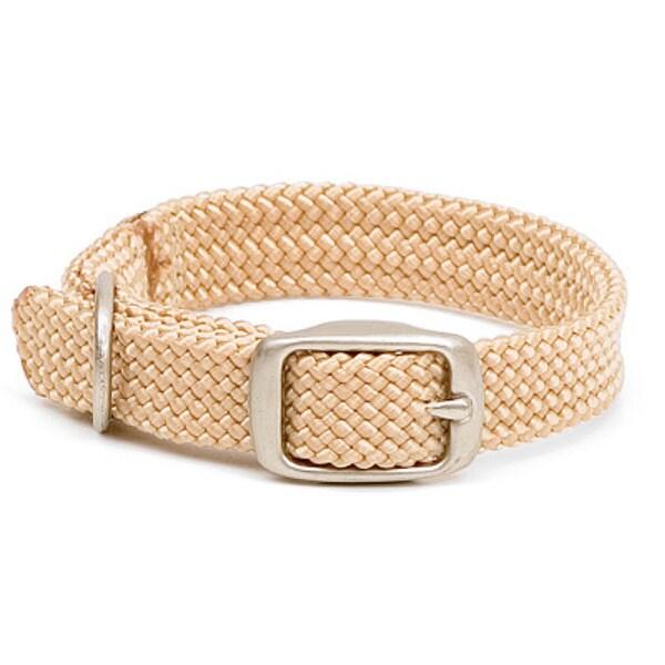 Sand Double-braid 24-inch Pet Collar
