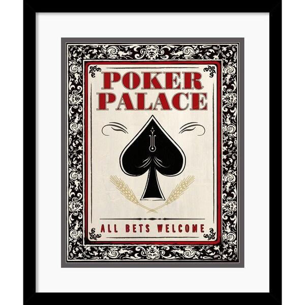 'Poker Palace' Framed Art Print