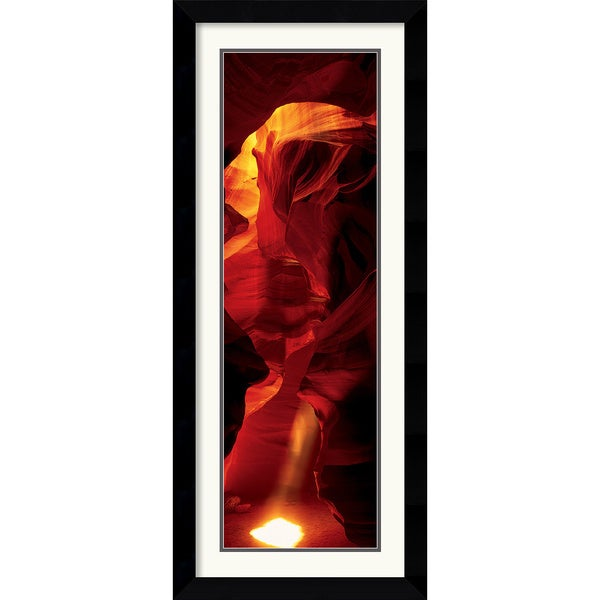 Cave - Antelope Canyon' Framed Art Print