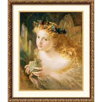 Framed Art Print 'Fairy' by Sophie Gengemgre Anderson 22 x 26-inch