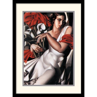 Tamara de Lempicka 'Portrait of Ira' Framed Art Print