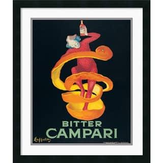 Framed Art Print 'Bitter Campari' by Leonetto Cappiello 22 x 26-inch