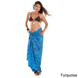 1 World Sarongs Women's Turi Leaf Sarong (Indonesia)