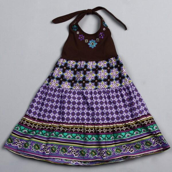 Good Lad Girl's Halter-top Dress