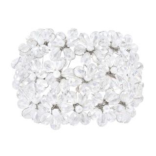 Clear Mini Floral Blossom Crystal Bracelet (Thailand)
