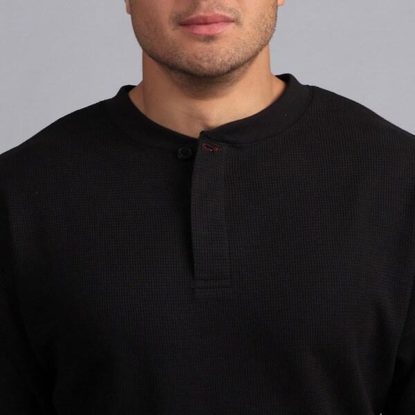 Farmall IH Men/'s Thermal Henley Shirt