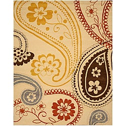 Hand-tufted Peter Wool Rug - 5' x 8' - Thumbnail 0