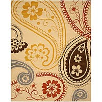 Hand-tufted Peter Wool Rug - 5' x 8'