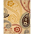 Hand-tufted Peter Wool Rug (5' x 8')