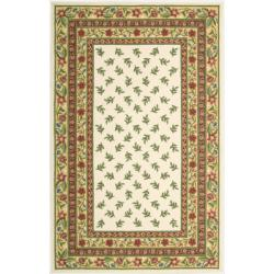 Nourison Hand-hooked Ivory Country Heritage Rug (2'6 x 4'2)