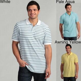 Chaps Men's Fine Striped Polo Shirt