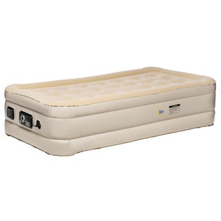 Link to Serta Raised Twin Airbed with NeverFlat AC Pump Similar Items in Bedroom Furniture