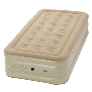 Serta Raised Twin-size Airbed with External AC Pump