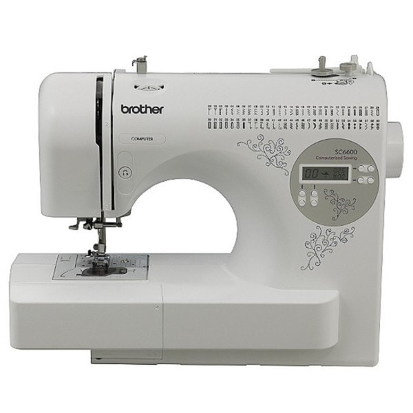 Brother SC6600 Heavy Duty Computerized Sewing Machine (Refurbished)