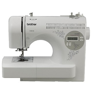Brother SC6600 Heavy Duty Computerized Sewing Machine Factory Refurbished