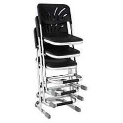 NPS Z-stool with Backrest - Thumbnail 1
