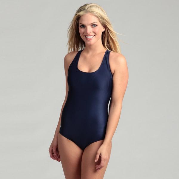 9b2c902a60862 Shop Speedo Women's Solid Ultraback One-piece Swimsuit - Free ...