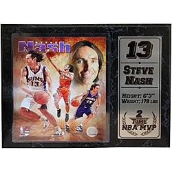 Phoenix Suns Steve Nash Stat Plaque