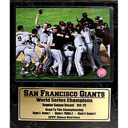 San Francisco Giants 2010 World Series Champions Stat Plaque - Thumbnail 0