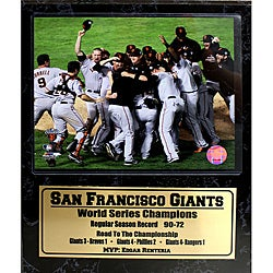 San Francisco Giants 2010 World Series Champions Stat Plaque