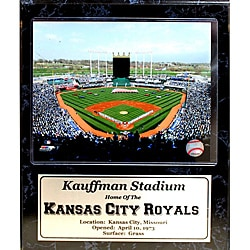 Kansas City Royals Kauffman Stadium Stat Plaque