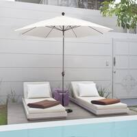 Havenside Home La Porte Bronze 9-foot Crank-tilt Market Umbrella