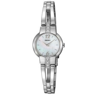 Seiko Women's Crystal Stainless steel Dress Watch