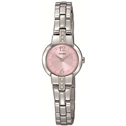 Seiko Women's Stainless Steel Dress Watch - Thumbnail 0